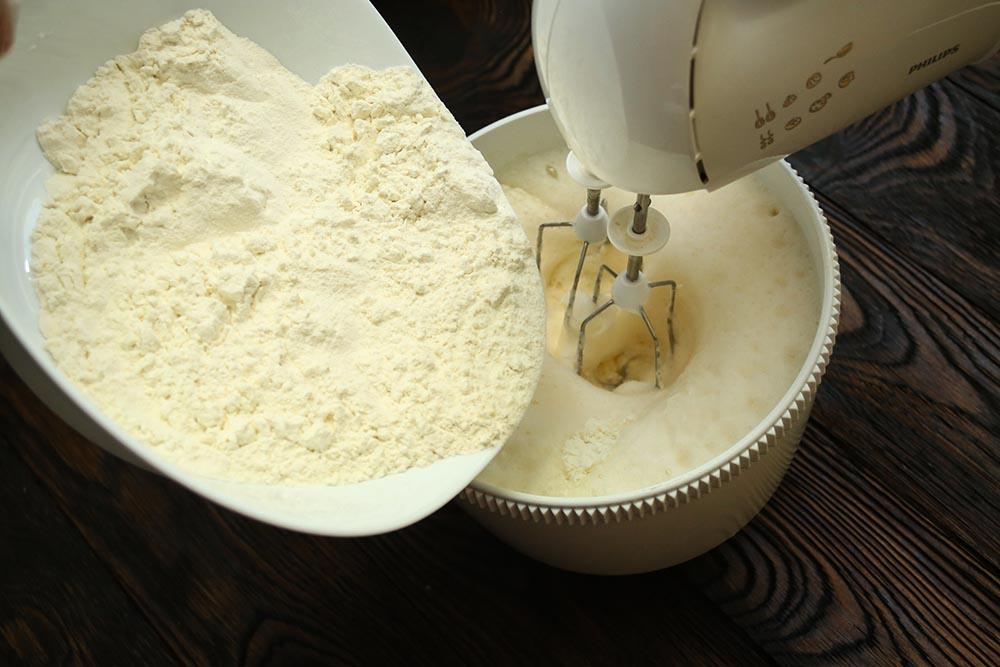 Блины классический на молоке с содой